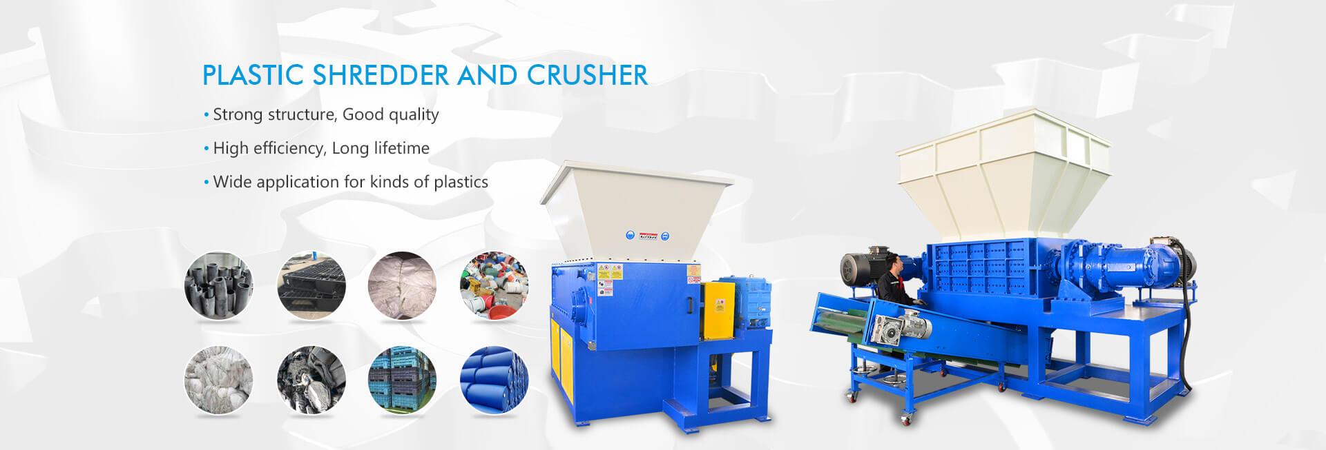 Plastic Shredder and Crusher
