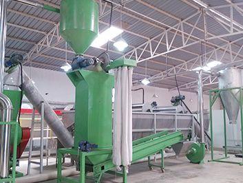 1000kg/h PET bottle washing line