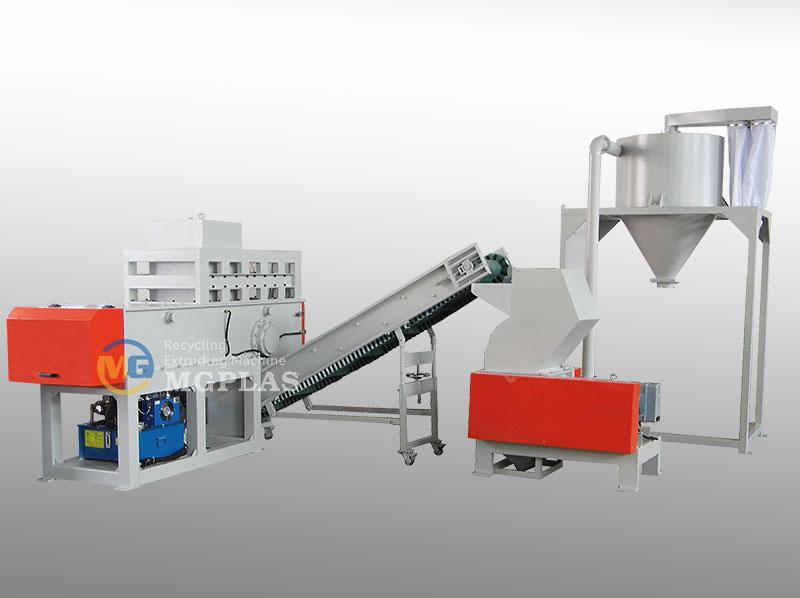Plastic pipe Shredder Crusher Production Line