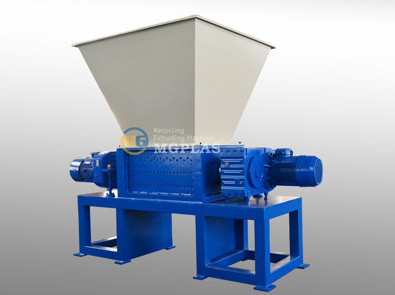 Plastic Film Twin Shaft Shredder Machine