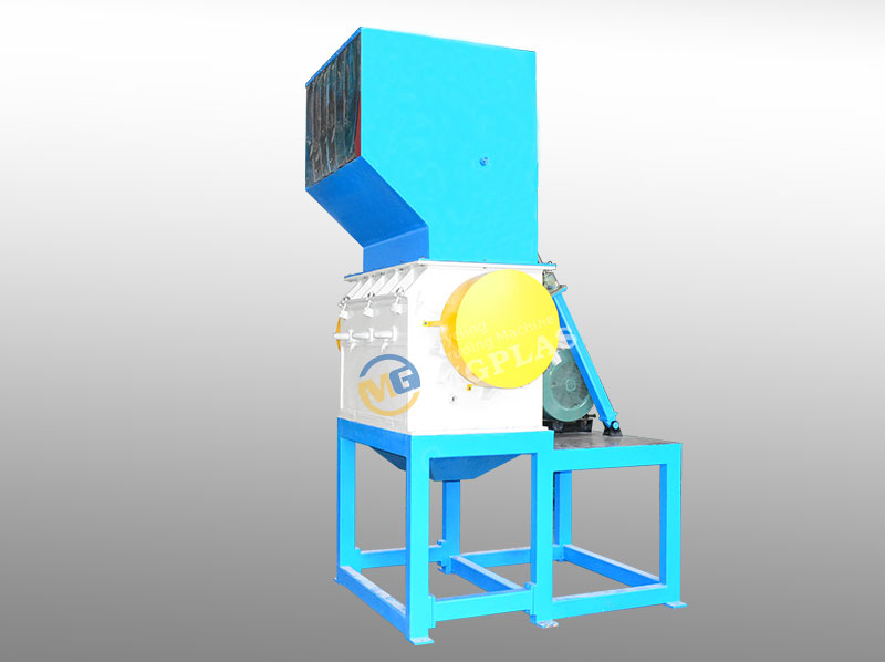 High Effiency Plastic Bag Crushing Machine With CE