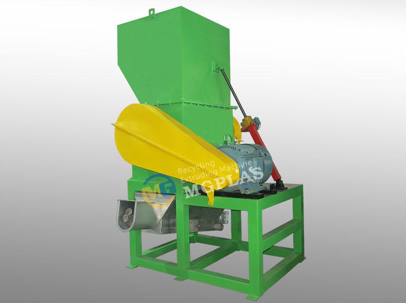 Heavy Duty Plastic Milk Bottle Crusher Machine With CE
