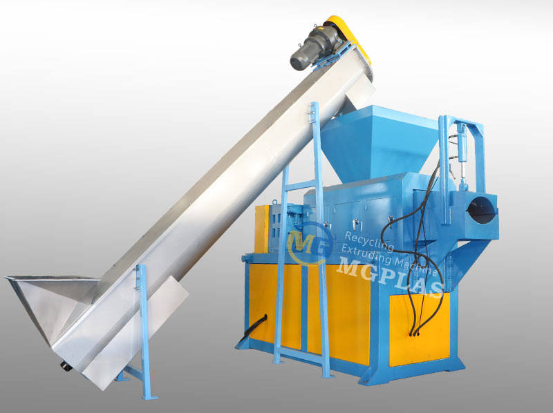 CE Approved PP PE Film Squeezing Machine