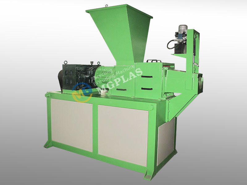 Low Power Plastic Squeezer Machine for waste plastic film and bags