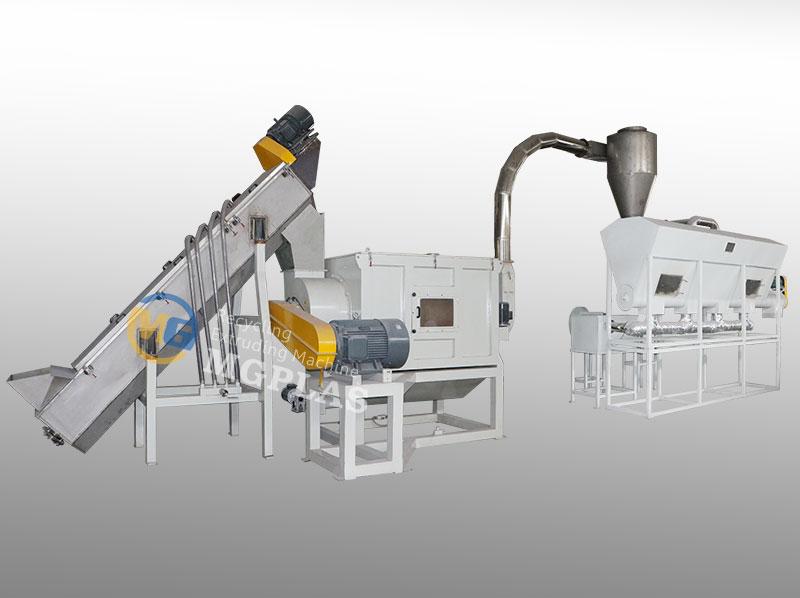 Factory Price Plastic Bag Washing Machine Production Line