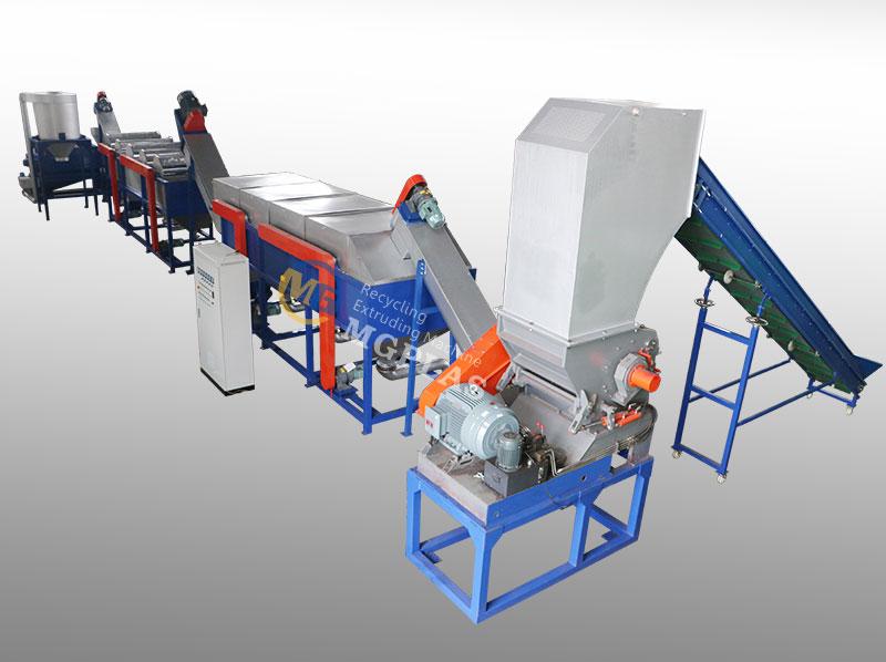 Economic High Efficiency Waste HDPE bottle Washing Line