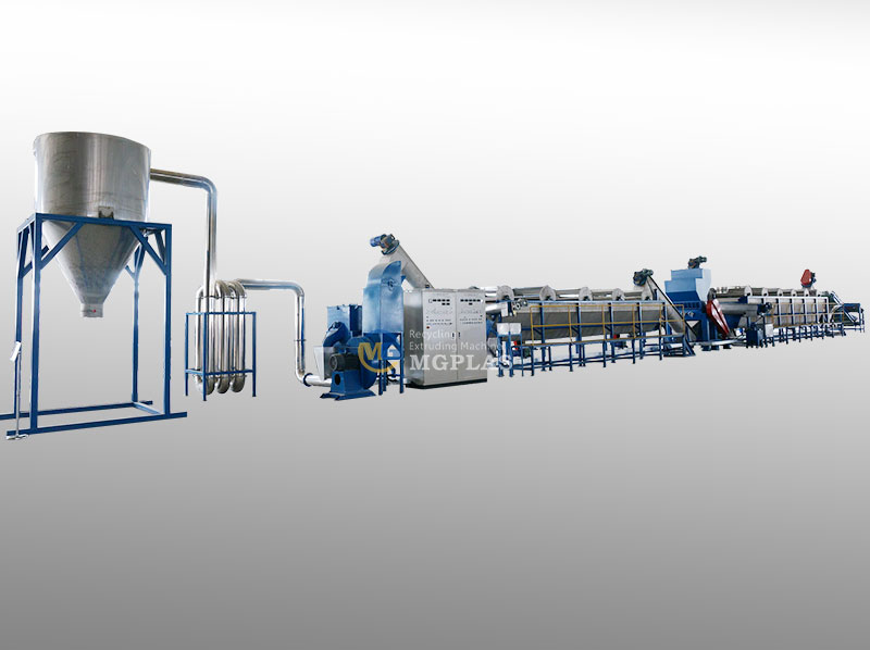 Good Performance Plastic Washing Line For HDPE Milk Bottle Recycling