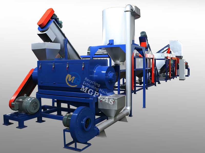 Multiple Usage Waste PP PE Hard Plastic Washing Line