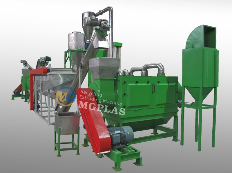 Hot Sale High Automation Pet Flakes Washing Plant