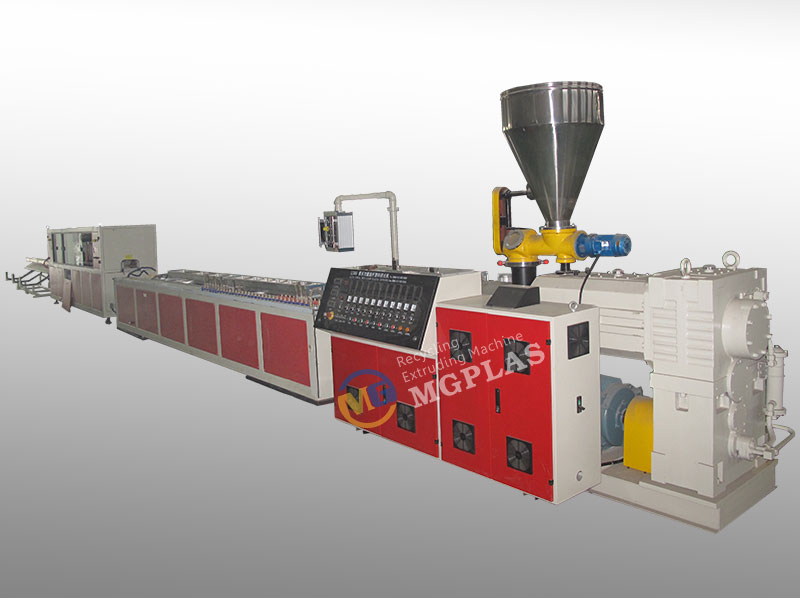 CE Approved Wood Plastic Composite WPC Production Line