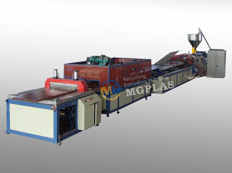 High Efficiency Wood Plastic HDPE WPC Door Production Line