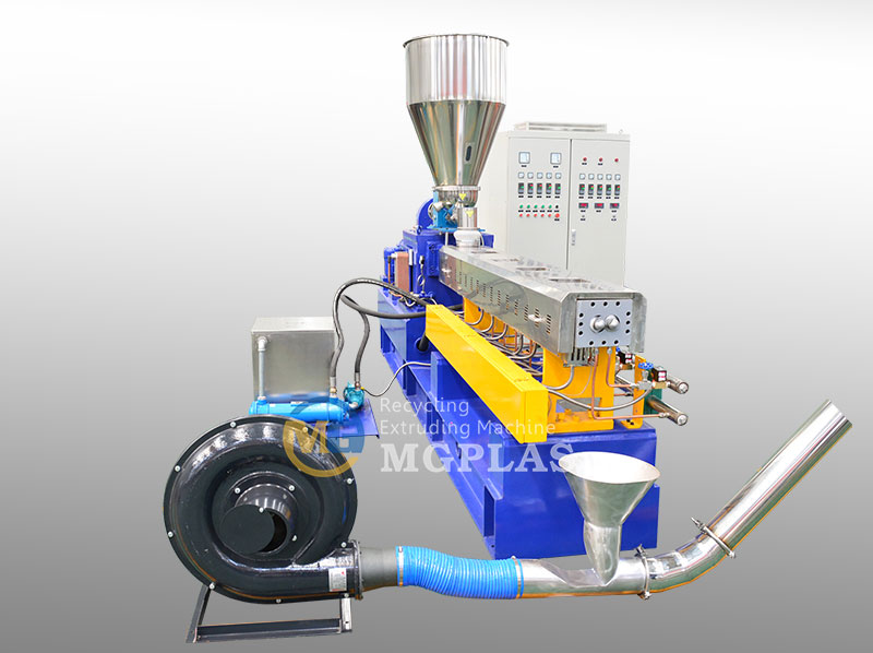 Large Productivity Plastic Pelletizing Machine For WPC Materials