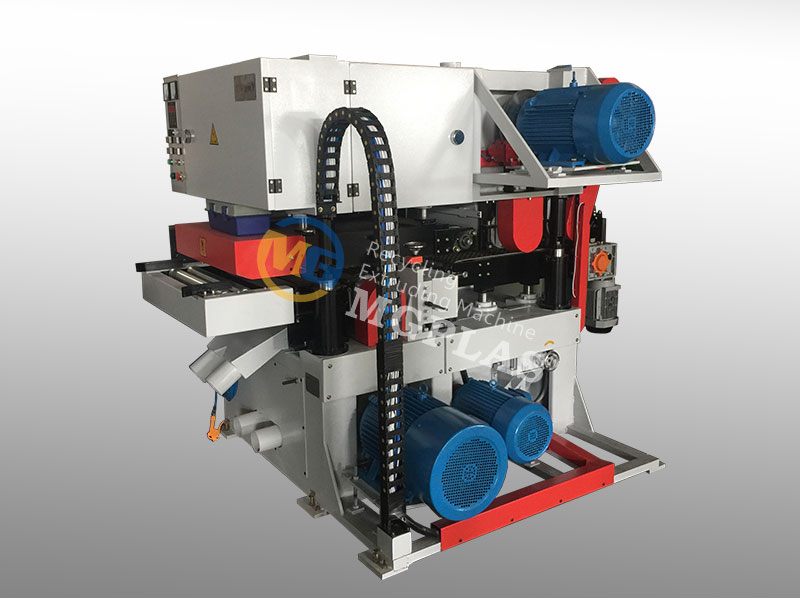 High Efficiency Double Surface WPC Sanding Machine