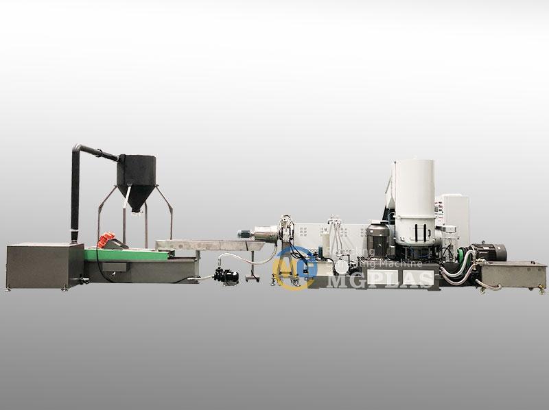 CE Approved Waste PP PE Film Plastic Pelletizing Machine
