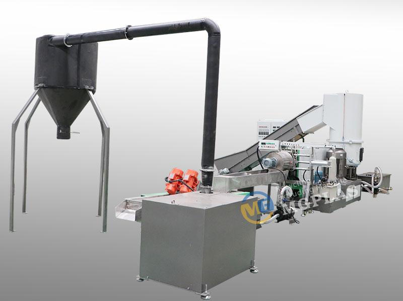 New Design PP PE Film Waste Plastic Recycling Pelletizing Machine