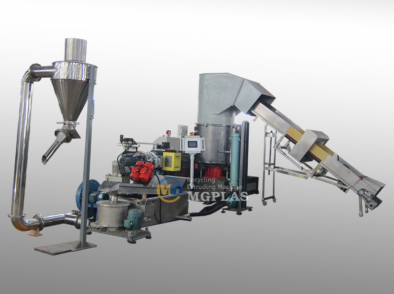 Zhangjiagang Good PP PE Film Plastic Pellet Making Machine