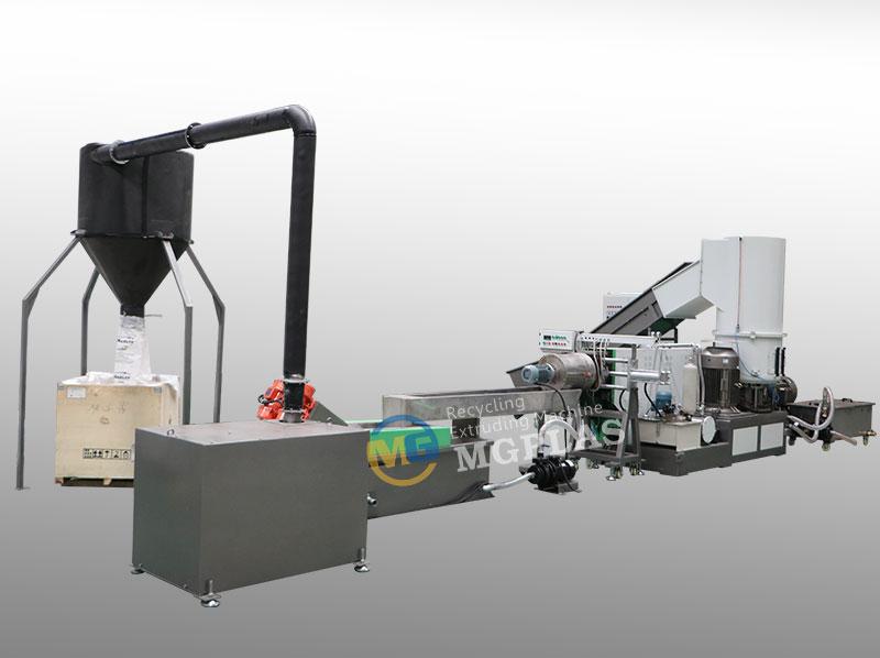 Large Capacity Single Stage Plastic Film Pelletizing Machine