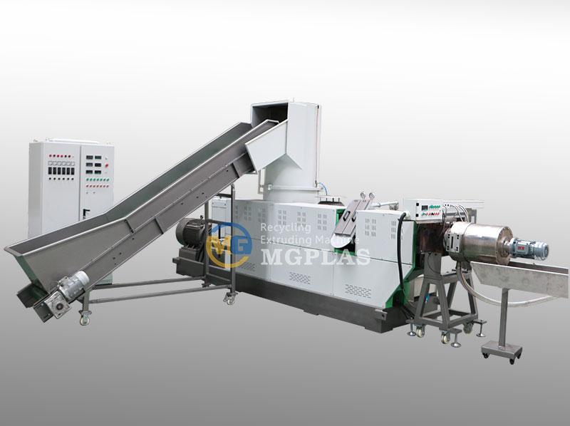 Economic Waste Plastic PP PE Water Ring Pelletizer Machine