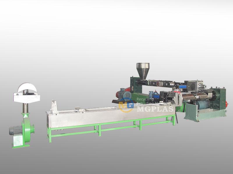 strand-cutting-plastic-granule-making-machine