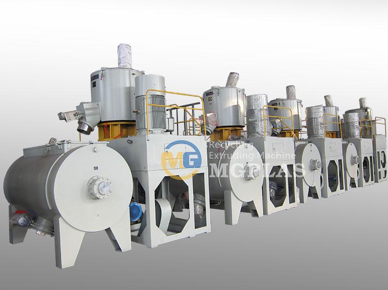 High Efficiency Horizontal PVC Mixer Machine