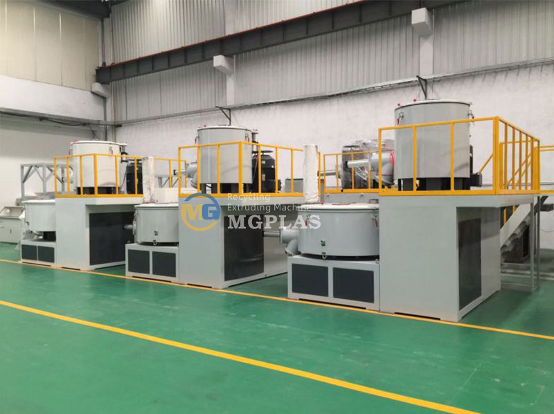 High Efficiency Vertical PVC Mixing Machine Group