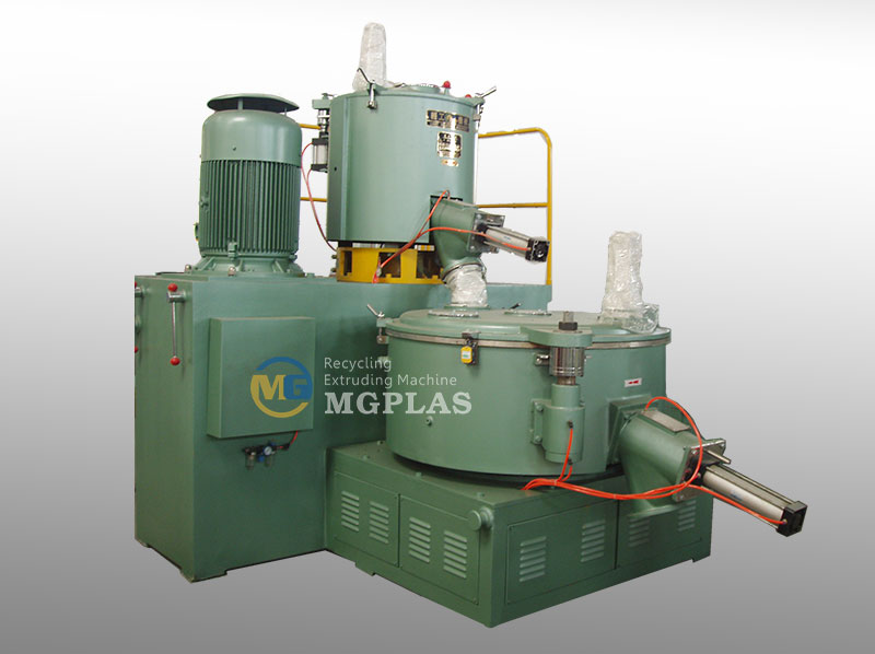 CE Approved Vertical WPC Mixer Machine Group