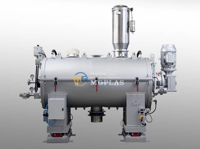 Large Capacity Horizontal Plastic Cooling Mixer