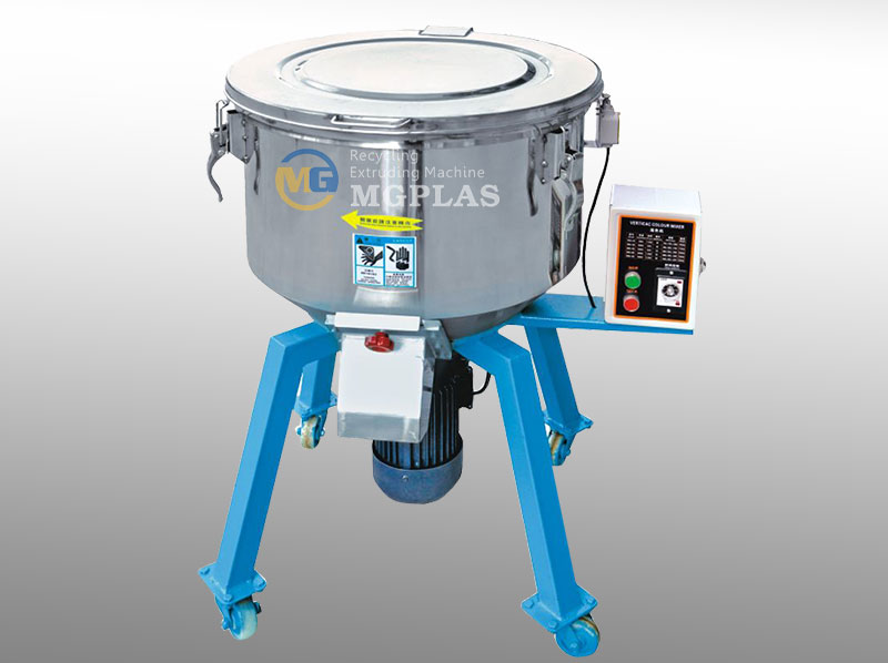 Stainless Steel Vertical Plastic Color Mixer Machine