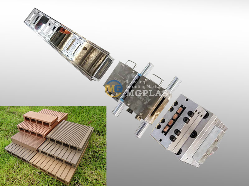 High Quality WPC Extrusion Mould For WPC Deckings