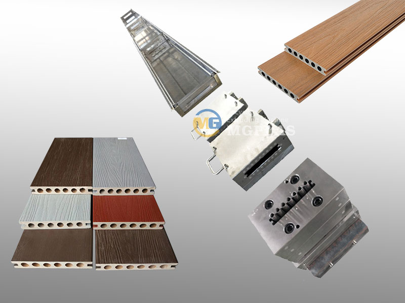 High Quality WPC Decking Profile Co Extrusion Mould