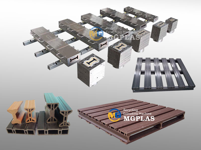 Professional Wood Plastic Composite WPC Pallet Profile Mould