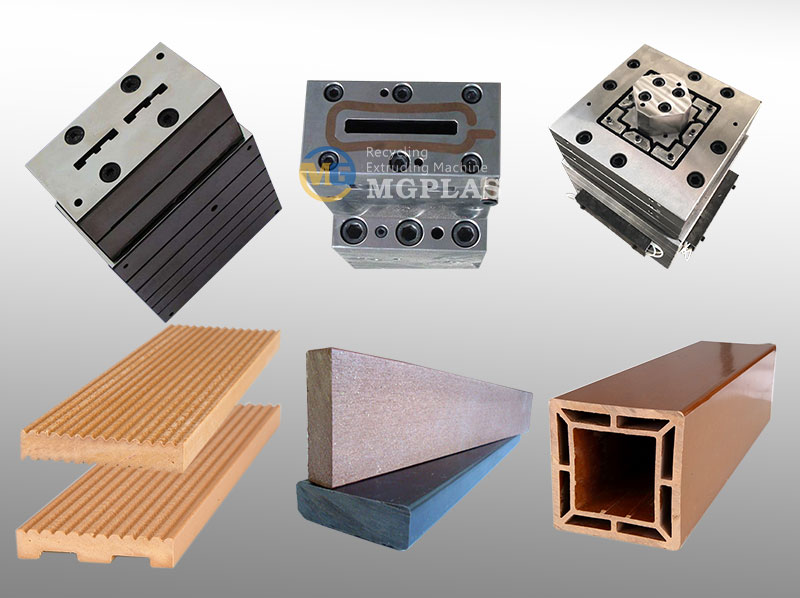 CE Approved WPC Fence Extrusion Mould
