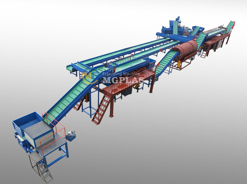 Municipal Solid Waste Sorting Line