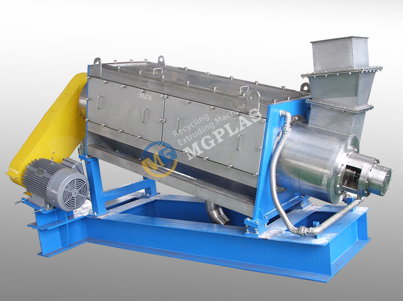 Tilted High Speed Pet Bottle Flakes Friction Washer