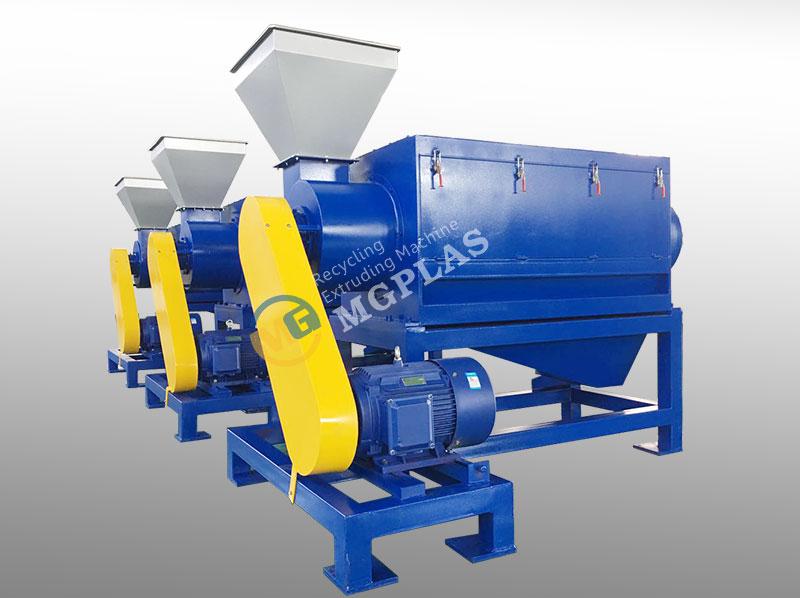 Horizontal High Speed Plastic Friction Washing Machine