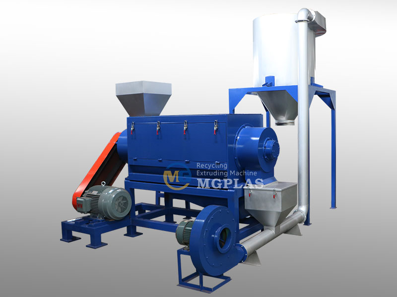 High Speed Horizontal Plastic Centrifugal Dewatering Machine