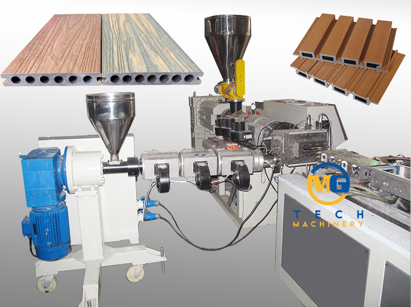 Good Quality WPC Co Extrusion Line At Factory Price For Sale